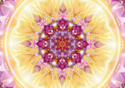 Flower of Life Mandala 14