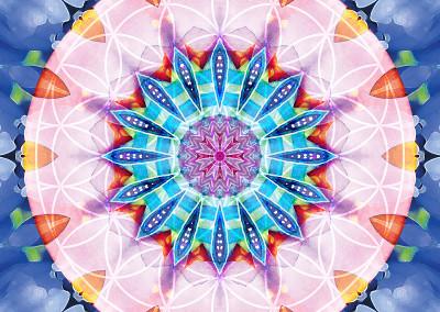 Flower of Life Mandala 12