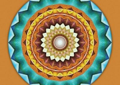 Mandalas from the Heart of Peace 8