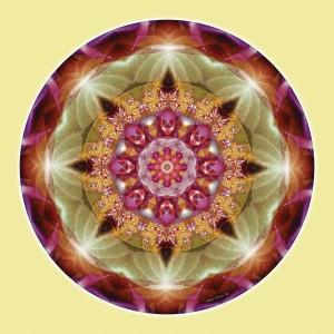Mandalas from the Heart of Peace 1 © Atmara Rebecca Cloe