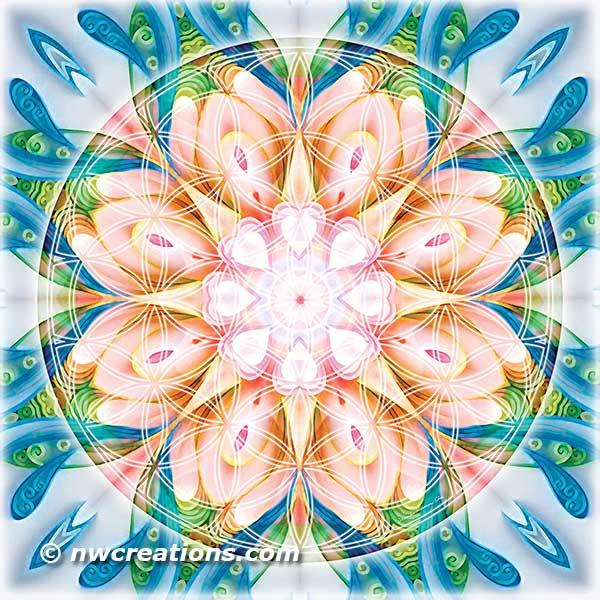 Flower of Life Mandala 11