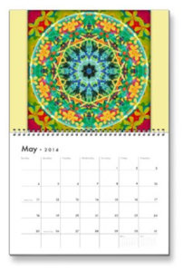 May Flower of Life Calendar