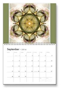 September Flower of Life Calendar