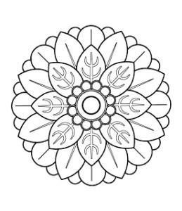 Chinese Mandala III from http://mandalasparapintar.blogspot.com