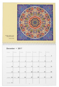 Mandalas for Times of Transition calendar Dec