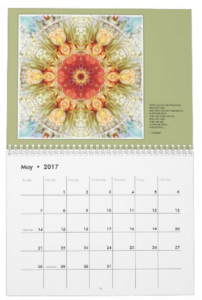Mandalas for Times of Transition calendar May