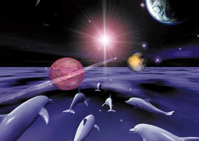 Cosmic Swimmers
