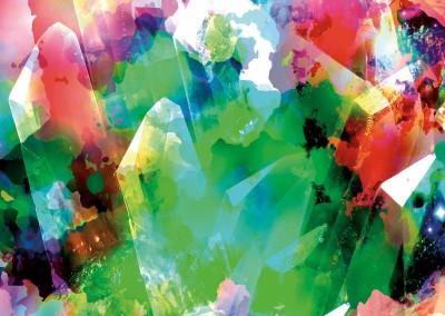 Crystalline Abstract 5