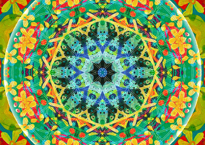 Flower of Life Mandala 10