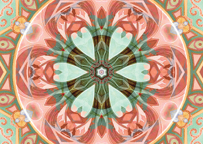 Mandalas of Forgiveness & Release 7