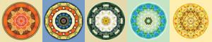 5 mandalas by Atmara Rebecca Cloe