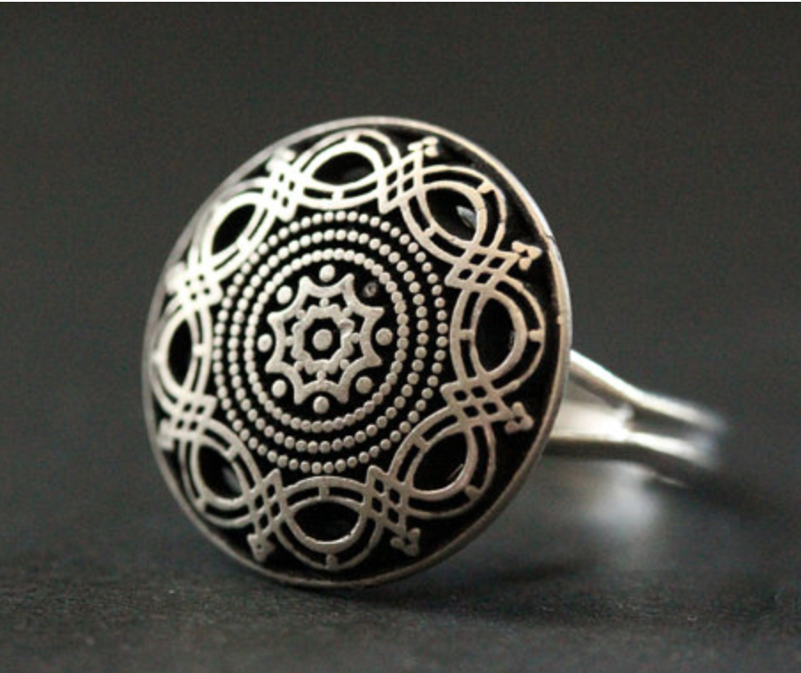 mandala monday mandala jewelry mandala rings
