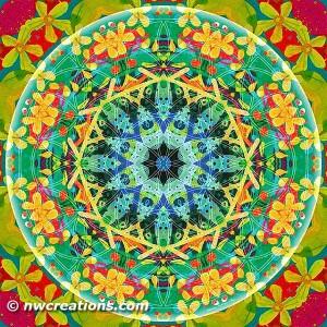 Flower of Life Mandala 10