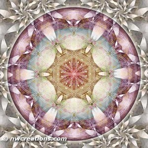 Flower of Life Mandala 13