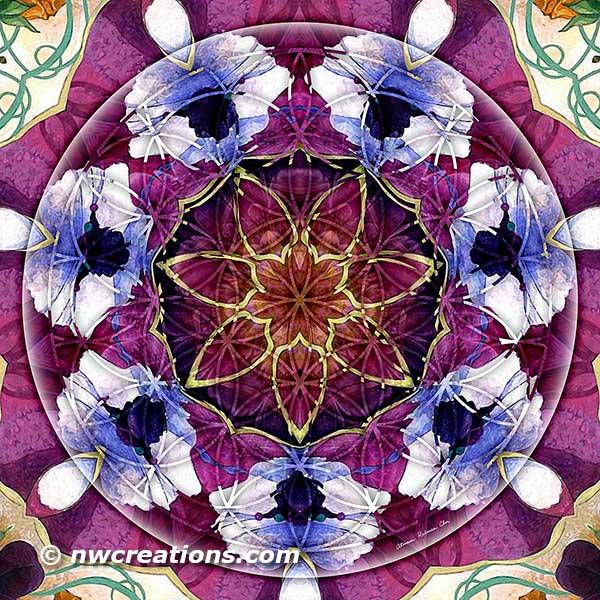 Mandala Monday - Flower of Life Mandalas Part 2