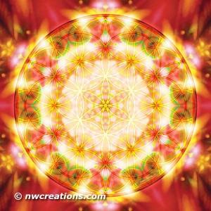 Flower of Life Mandala 15