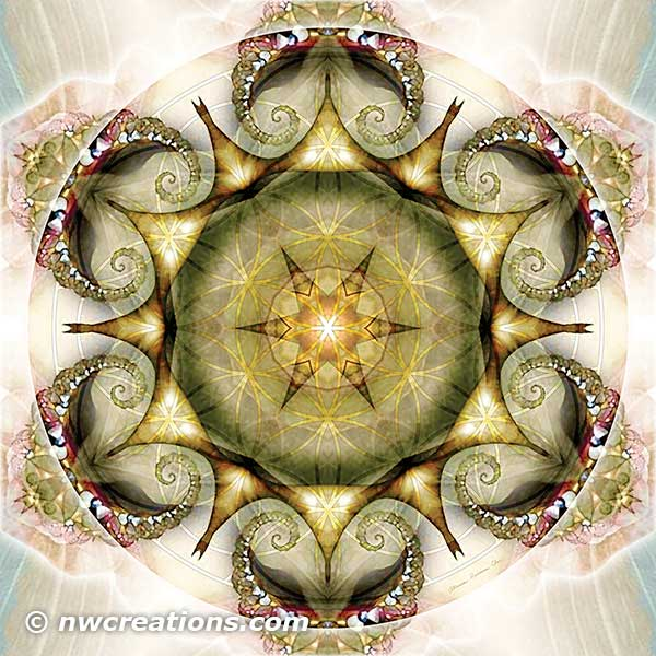 Flower of Life Mandala 19