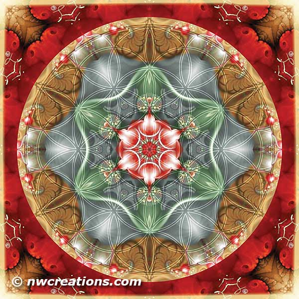 Flower of Life Mandala 2
