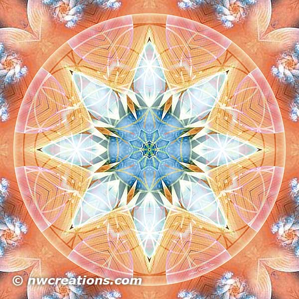 Flower of Life Mandala 3