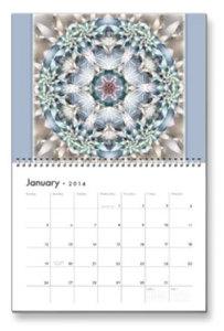 Jan. Flower of Life Calendar