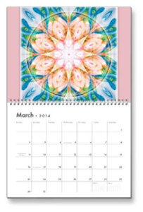 March Flower of Life Calendar