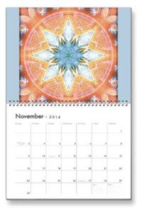 November Flower of Life Calendar