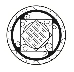 Free mandala to color from 30 Minute Mandala
