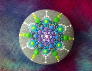 Painting Mandalas on Stones Part 1