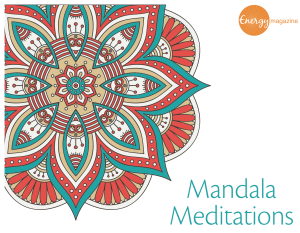 Mandalas to color from Energy Magazine