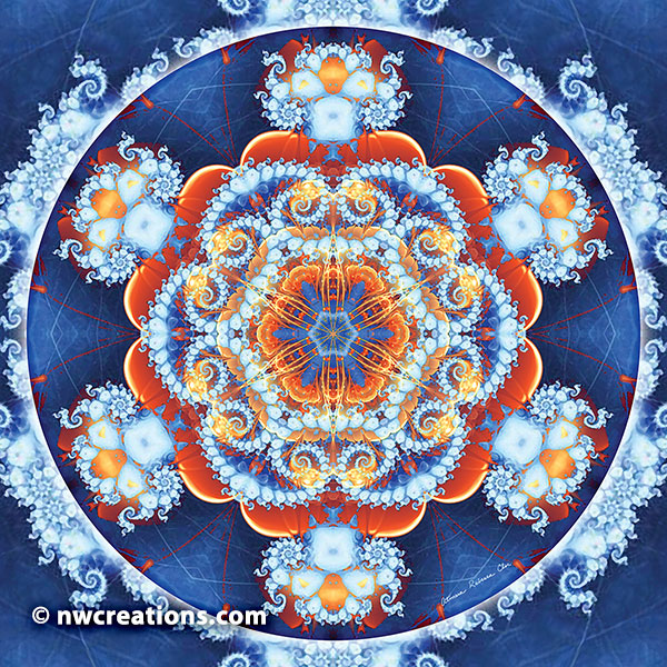 Mandalas of Forgiveness and Release 6