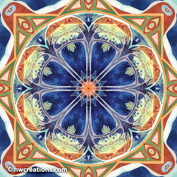 Mandalas of Forgiveness and Release 8