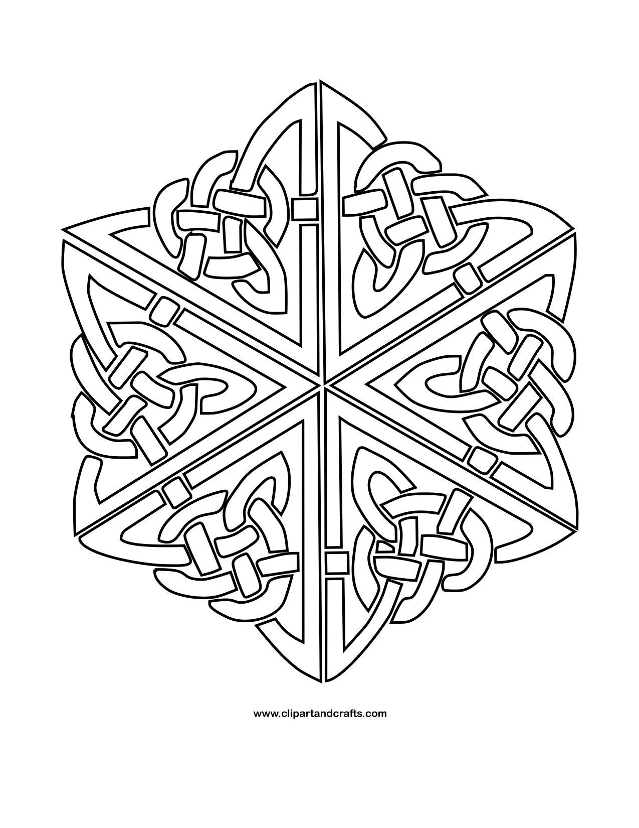 Mandala Monday - More Free Celtic Mandalas to Color