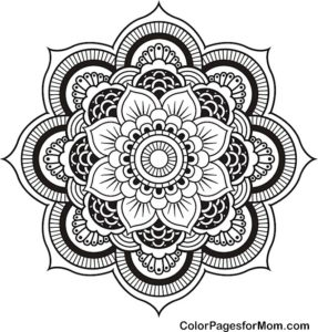 coloring pages for mom 1