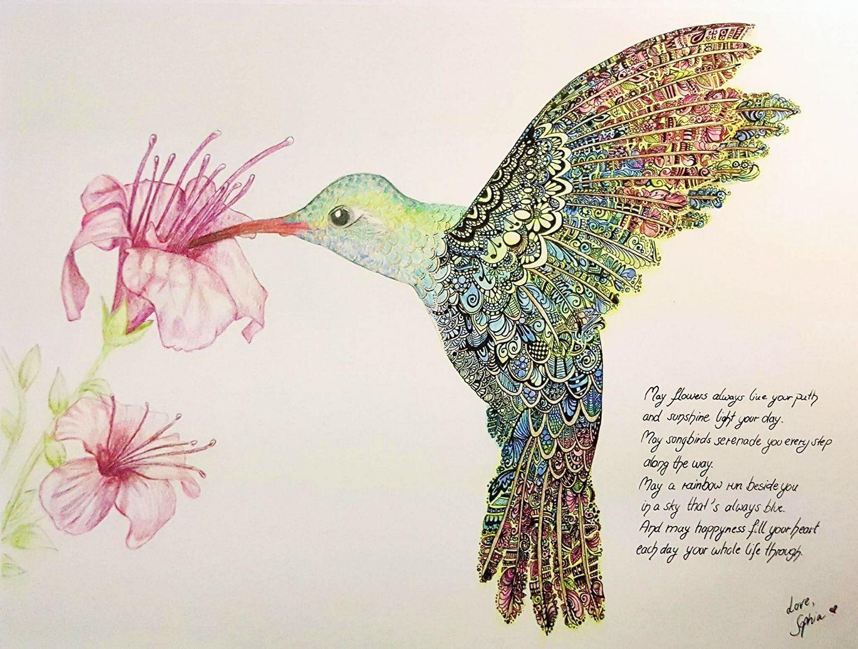 birdzengle by Linetastic art