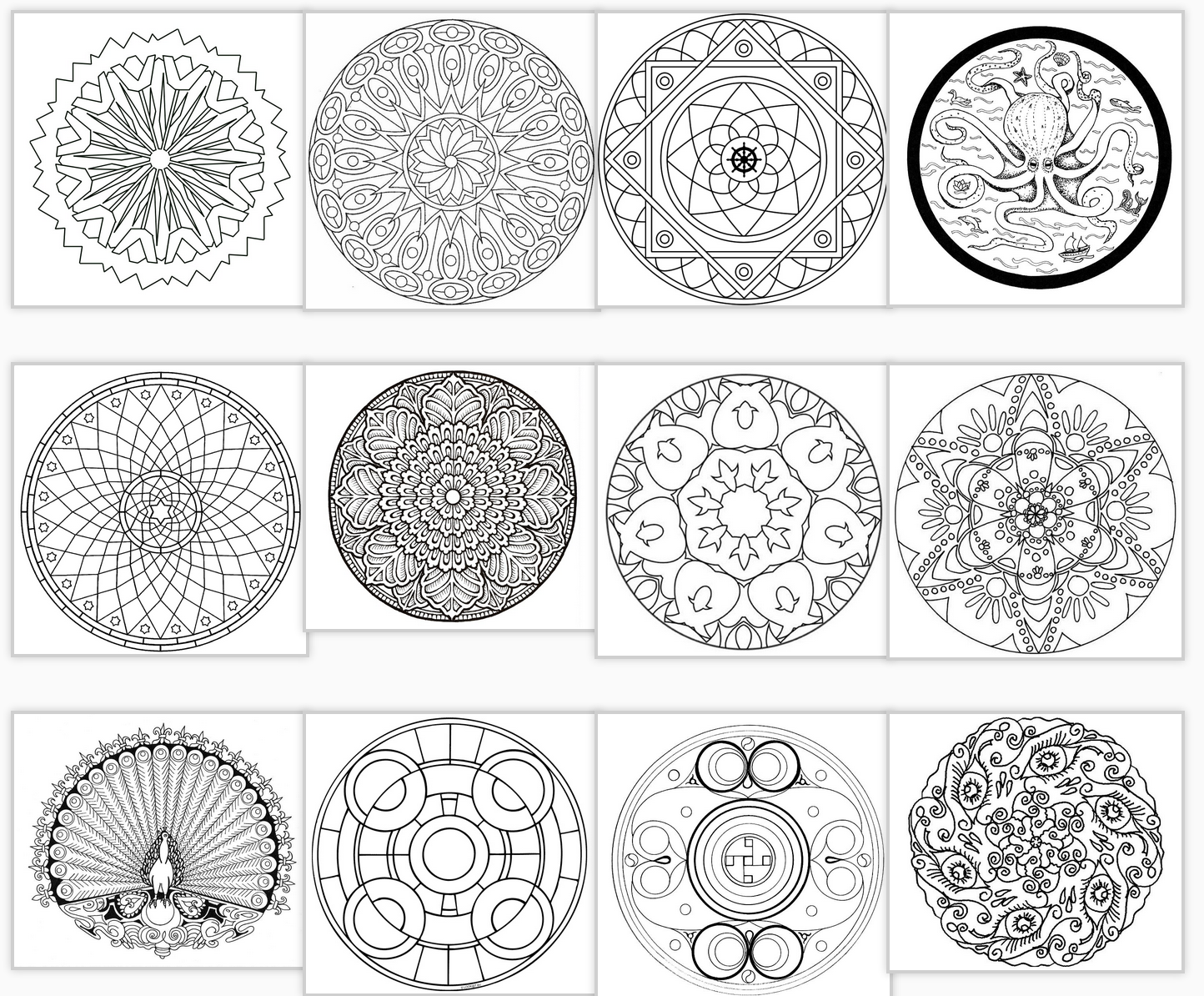 mandala coloring archives artwork by atmara