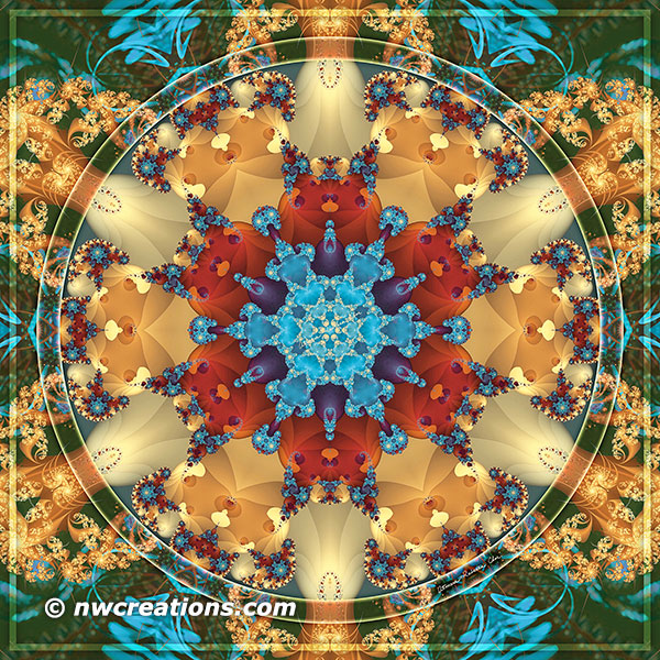 Mandalas from the Heart of Freedom 23