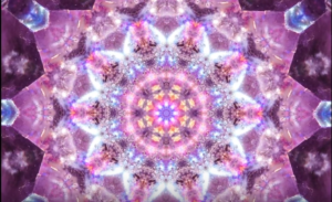 Amethyst Mandala-Elemental Mandala