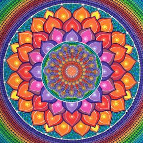 Elspeth McLean Dot Painting