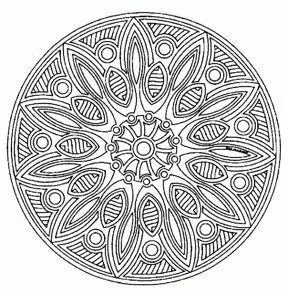 Mandala Monday - Free Mandalas to Color Online from ...