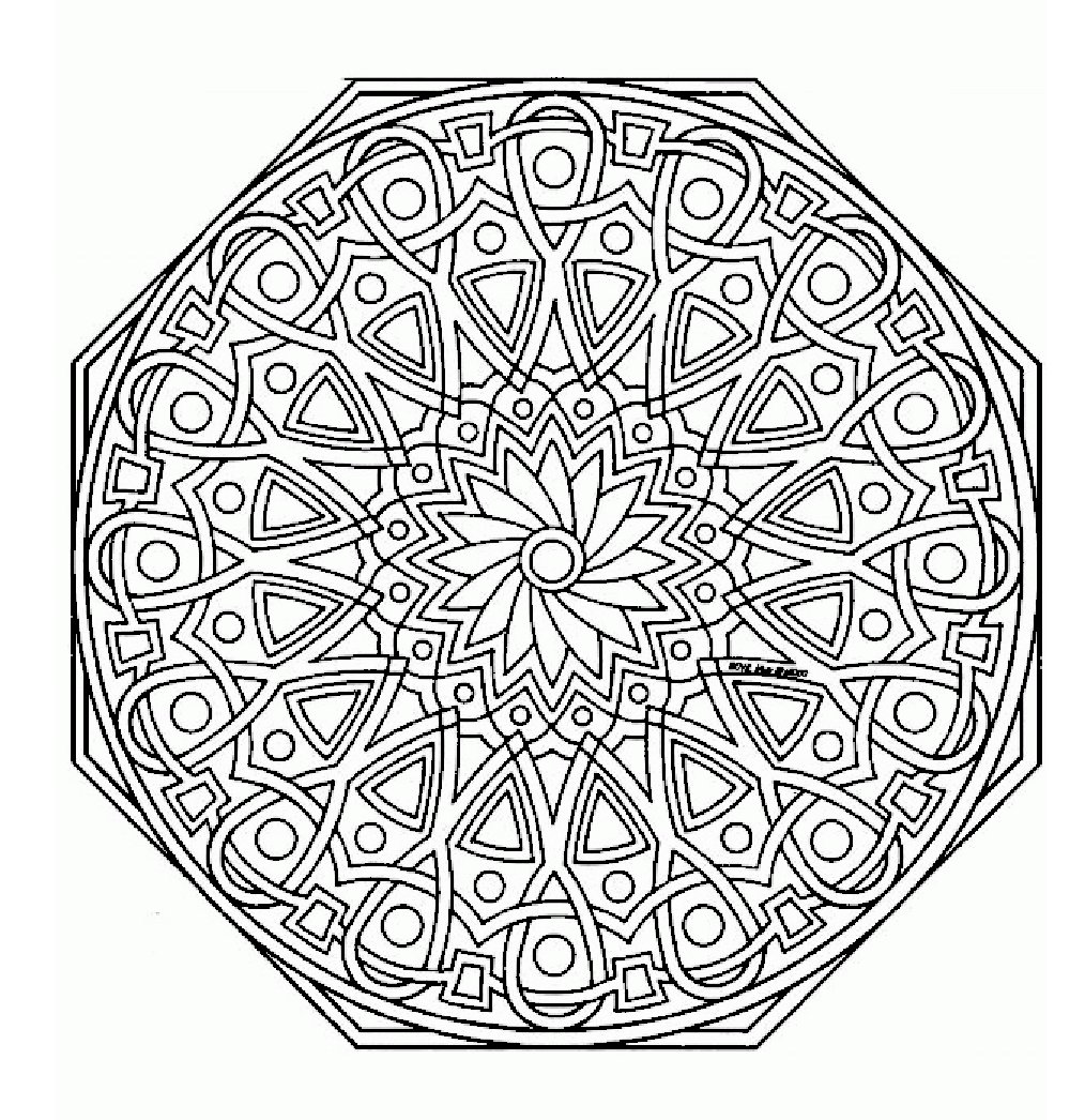 Mandala Monday - Free Mandalas to Color Online from ...